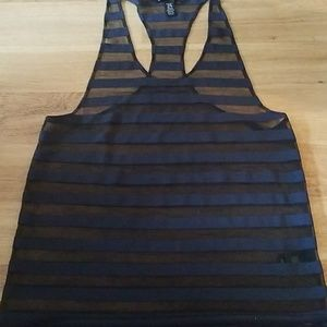 Kenneth Cole transparent tank